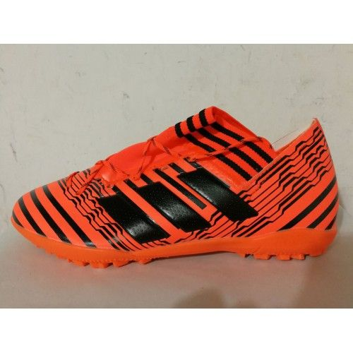 scarpe calcio adidas nemeziz 17.3 tf arancia sconto