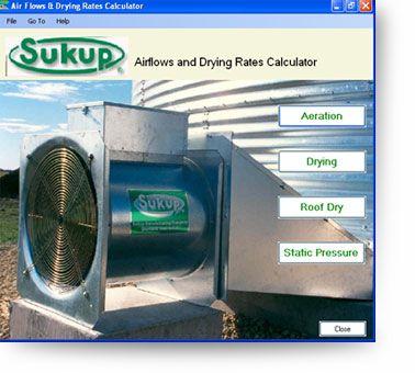 Grain Aeration Aerator Airflow Storage Bins