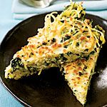 Linguine Frittata With Greens