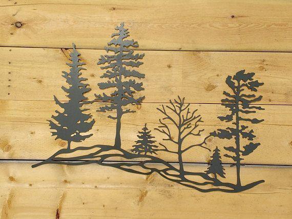 Pin by Kayle Weather on Metal Tree Artwork   Pinterest   Metal tree