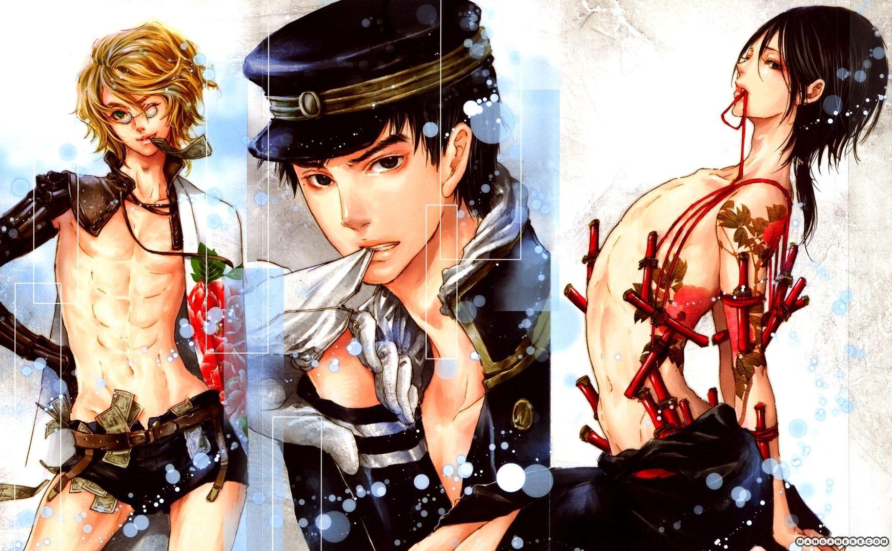 Nao Tsukiji Adekan Anime boy, Anime, Vampire illustration