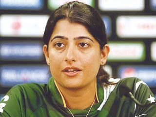 Hot female sports players: Pakistani female cricketer Sana Mir