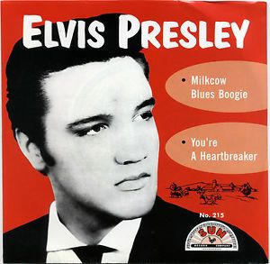 Elvis Presley Milkcow Blues Boogie Sun Records Red Vinyl Listen Elvis Presley Sun Records Elvis