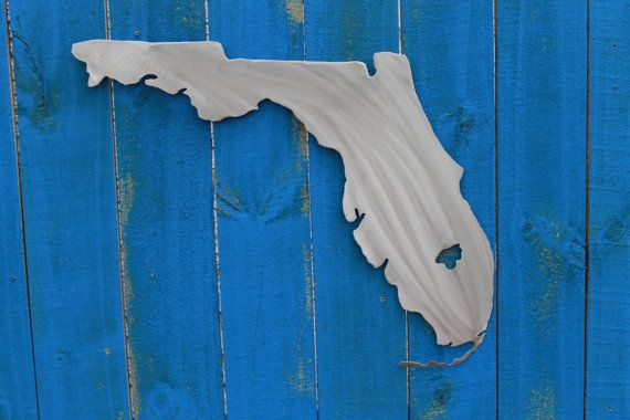 Florida Wall Decor State By