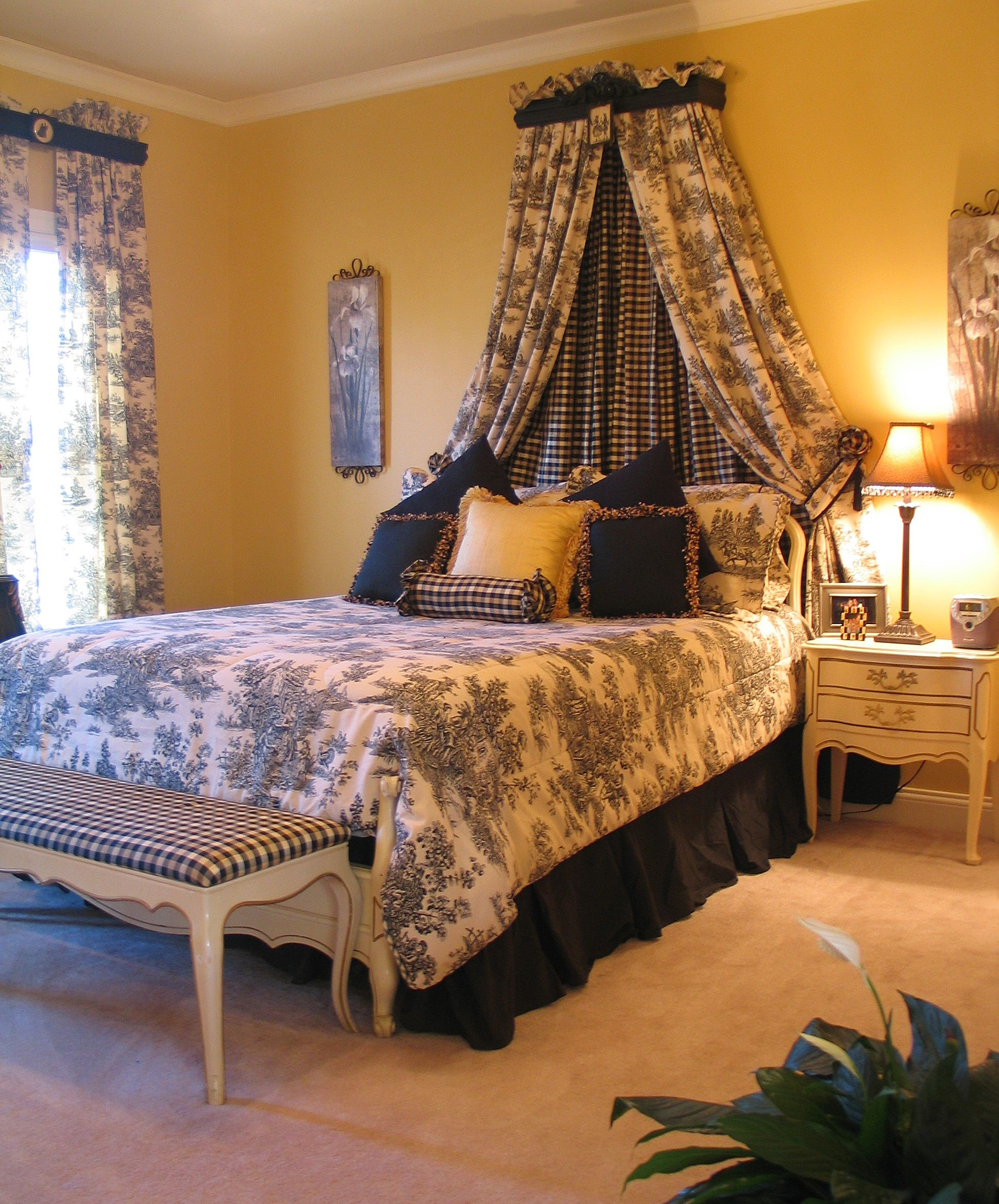 Best Black And White Toile Bedroom Bedroom Decor Home 400 x 300