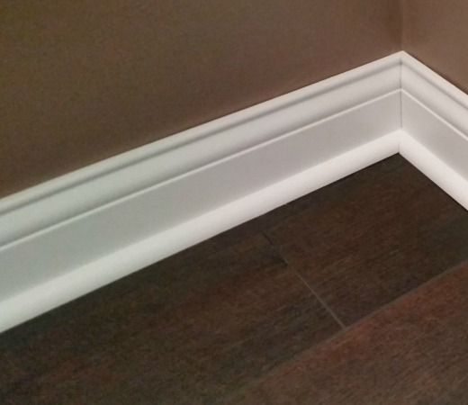 how to paint trim without brush marks