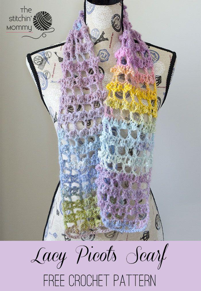 A Scarftastic Scarf Club! | Chal, Bufanda pañuelo y Crochet bufanda