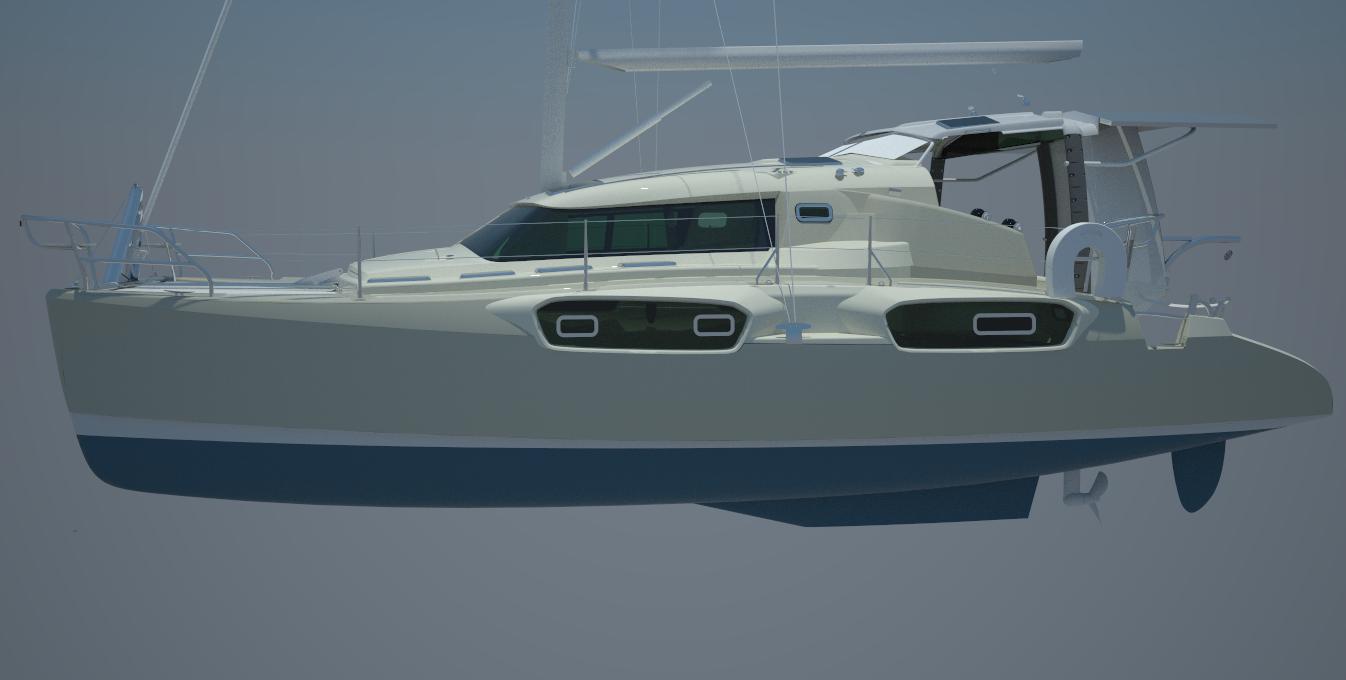 Power catamaran designs - 15m Charter Sailing Catamaran Southwell Yacht Design Catamaran Power Boat Luxury Charter And