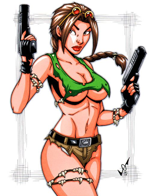 Savage Land Lara Croft by gb2k on DeviantArt
