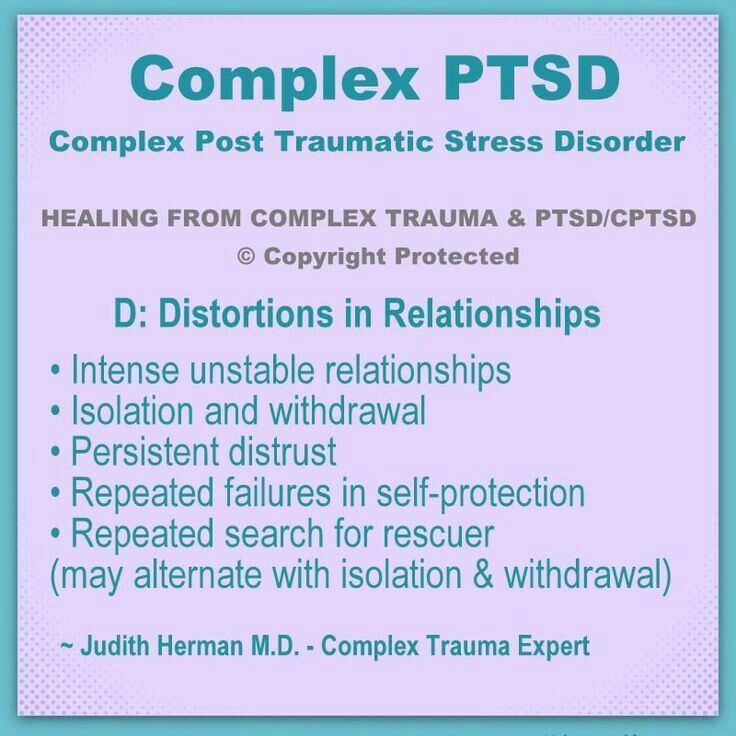 post traumatic stress disorder facts