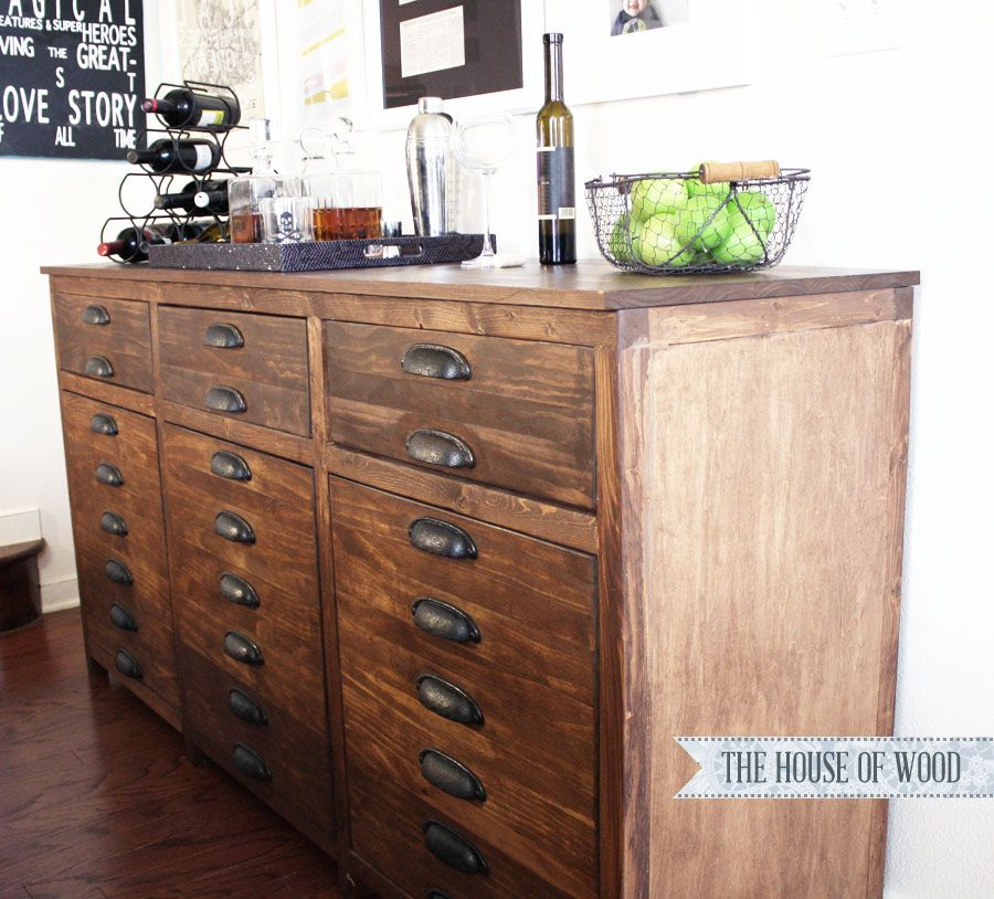 Brainstorming A Bar Cabinet U2013 The Grand Finale! | The House Of Wood