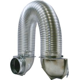 Builder S Best 4 In X 6 Ft Universal Dryer Vent Kit