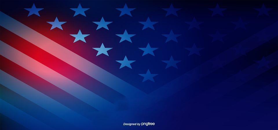 Criacao De Fundo Azul Vermelho Da Bandeira Dos Estados Unidos Fundo Da Bandeira Bandeira Americana Bandeira Dos Estados Unidos