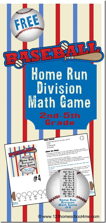 Photo of FREE Baseball Printable Division Games