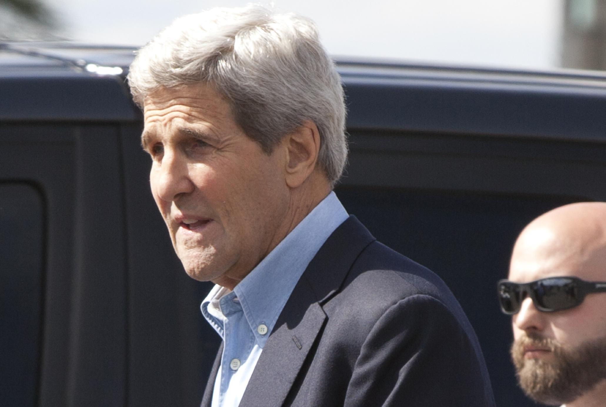 John Kerry tries to pacify Israeli worries over Iran deal John Kerry  #JohnKerry