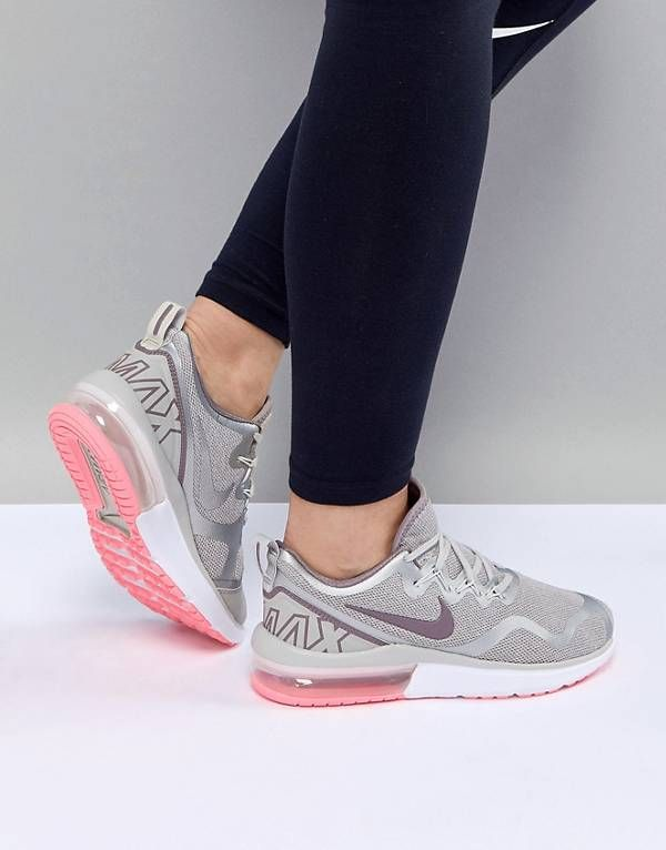 superior quality 2d00f 16b64 Nike Running Air Max Fury Trainers In Bone Grey   SHOES   Pinterest   Nike  running