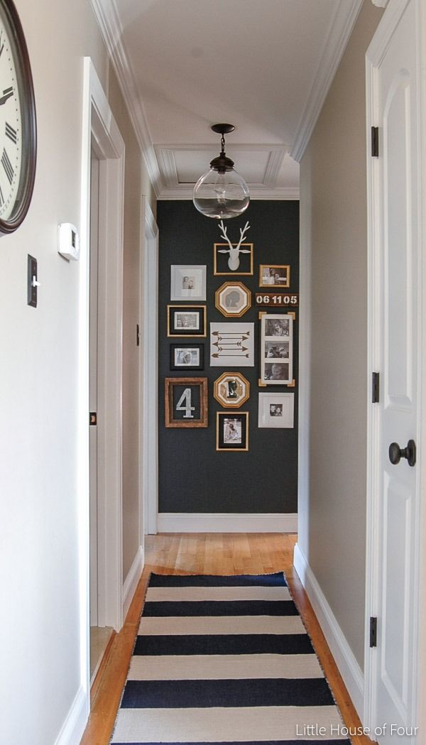 Updated Hall Gallery Wall (With Images)