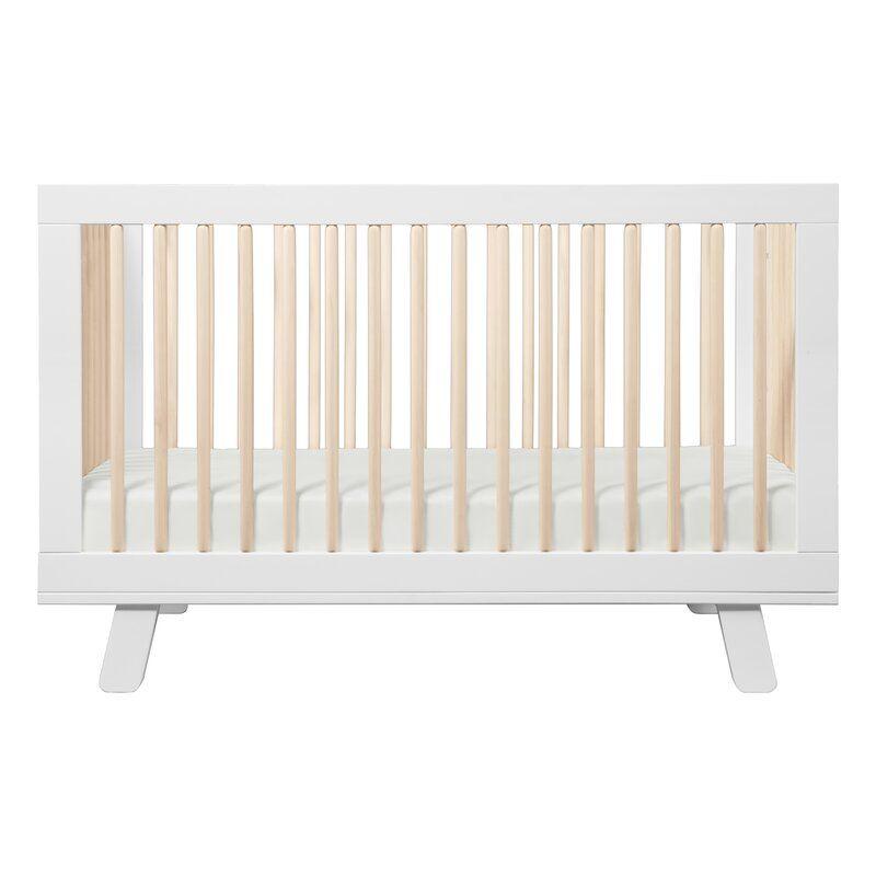 Hudson 3 In 1 Convertible Crib In 2020 Convertible Crib White Convertible Crib Babyletto Hudson