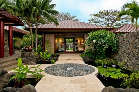 Hokulia Resort Residence Fine Design Hawaii Bali Style Home Bali House Home Garden Design