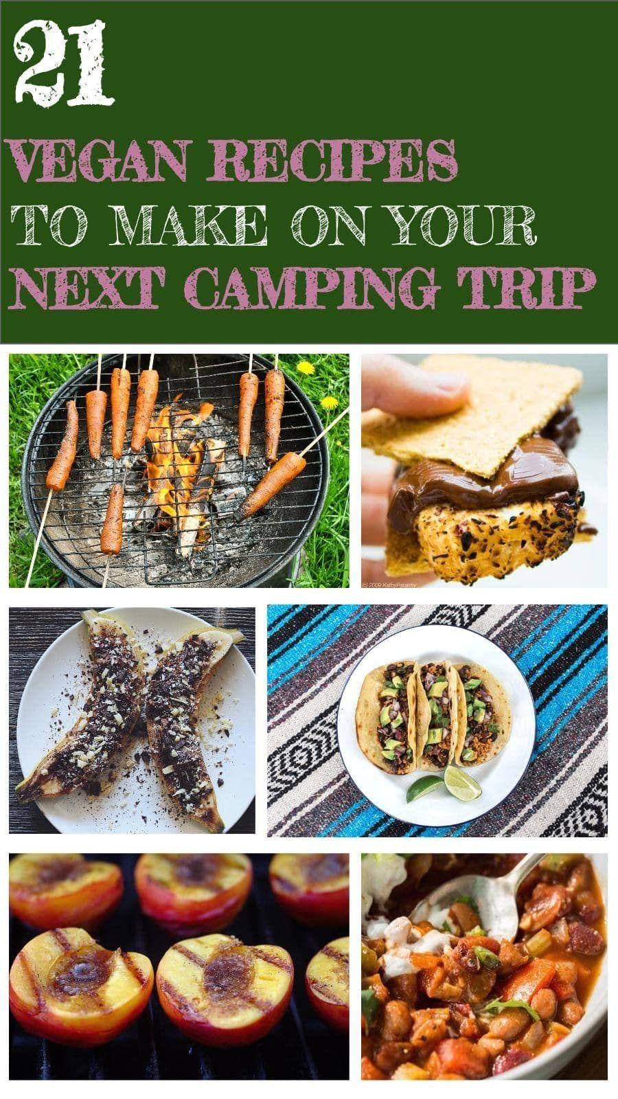 21 vegan recipes to make on your next camping trip vegan