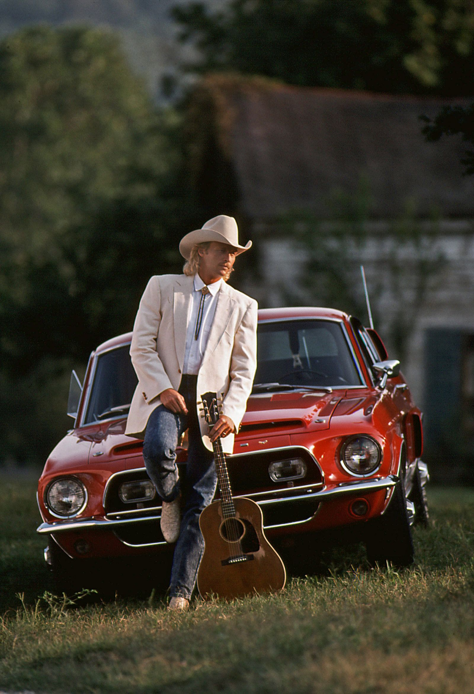 Alan Jackson Photographed For Arista Records On Location In