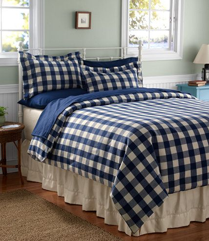 Ultrasoft Flannel Comforter Cover Buffalo Plaid Comforter Covers Free Shipping At L L Bean Home Big Boy Room Teal Bedding