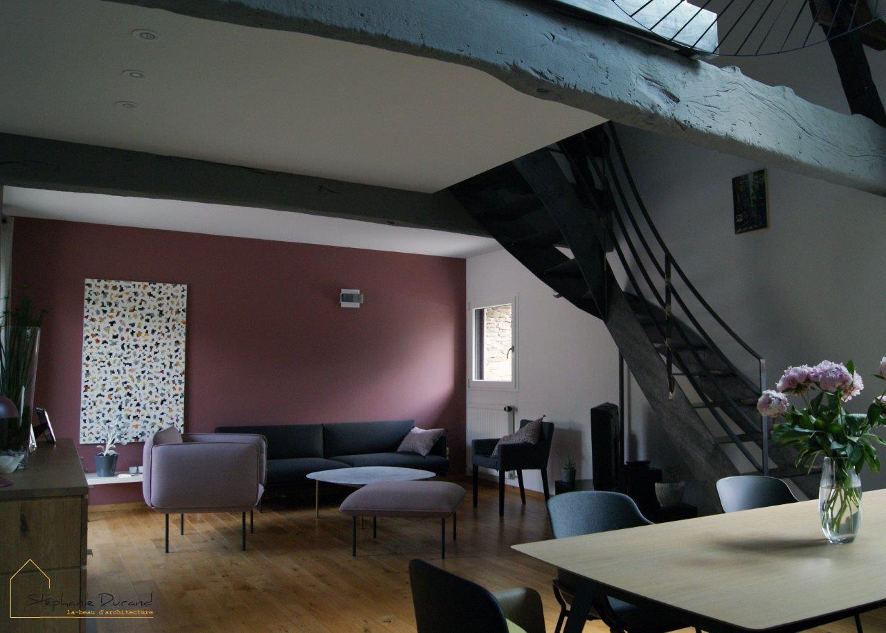 Deuxieme Jeunesse Stephanie Durand Architecte Nantes Architecture Interieure Idees Pour La Maison