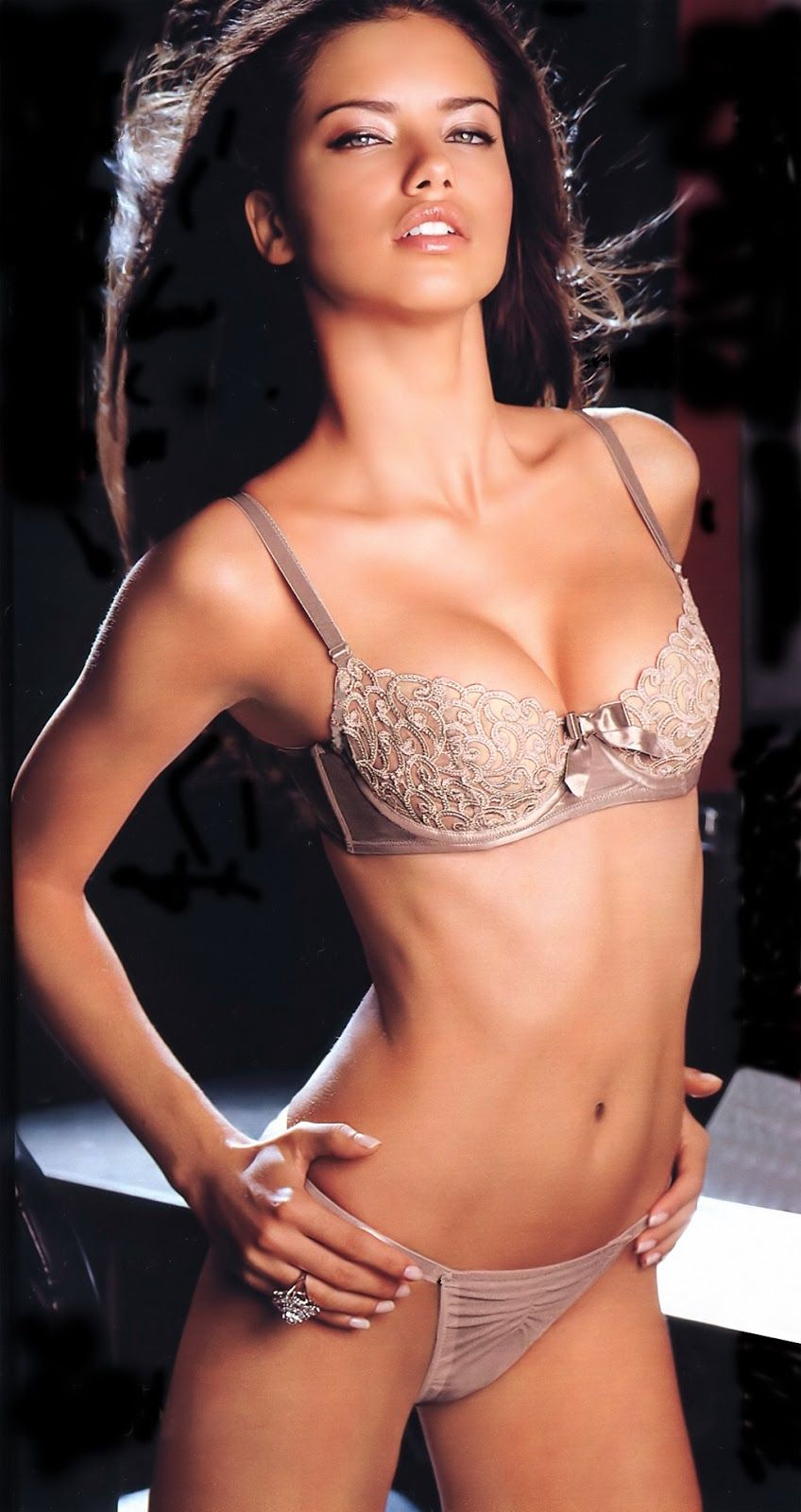 e4876c3924727 Adriana lima 8x10 photo picture pic hot sexy body in bra and panties 35