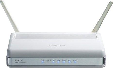 ASUS RT-N12 Настройка Wi-Fi роутера ASUS RT-N12