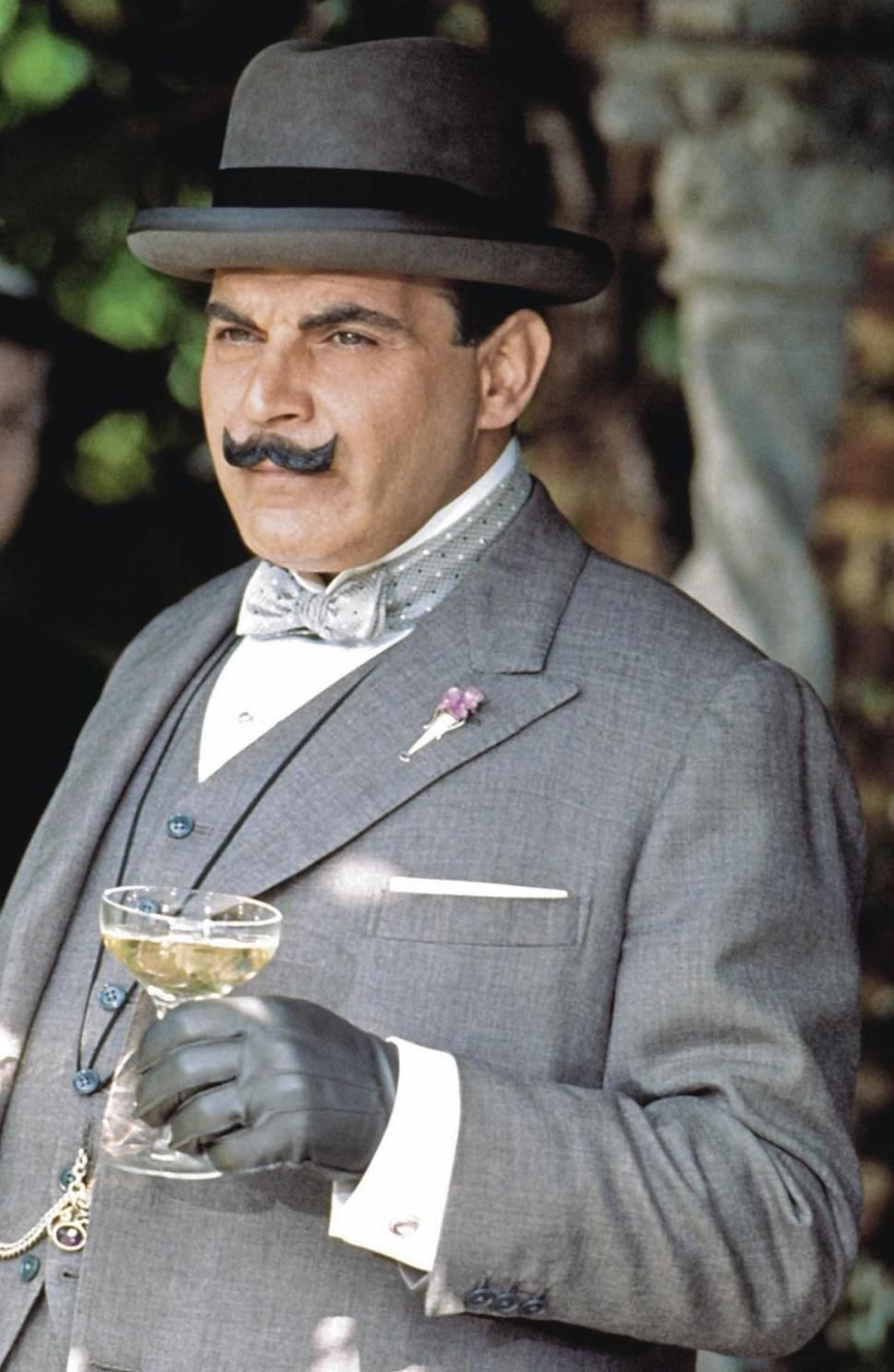 A toast to the great detective poirot agatha christie
