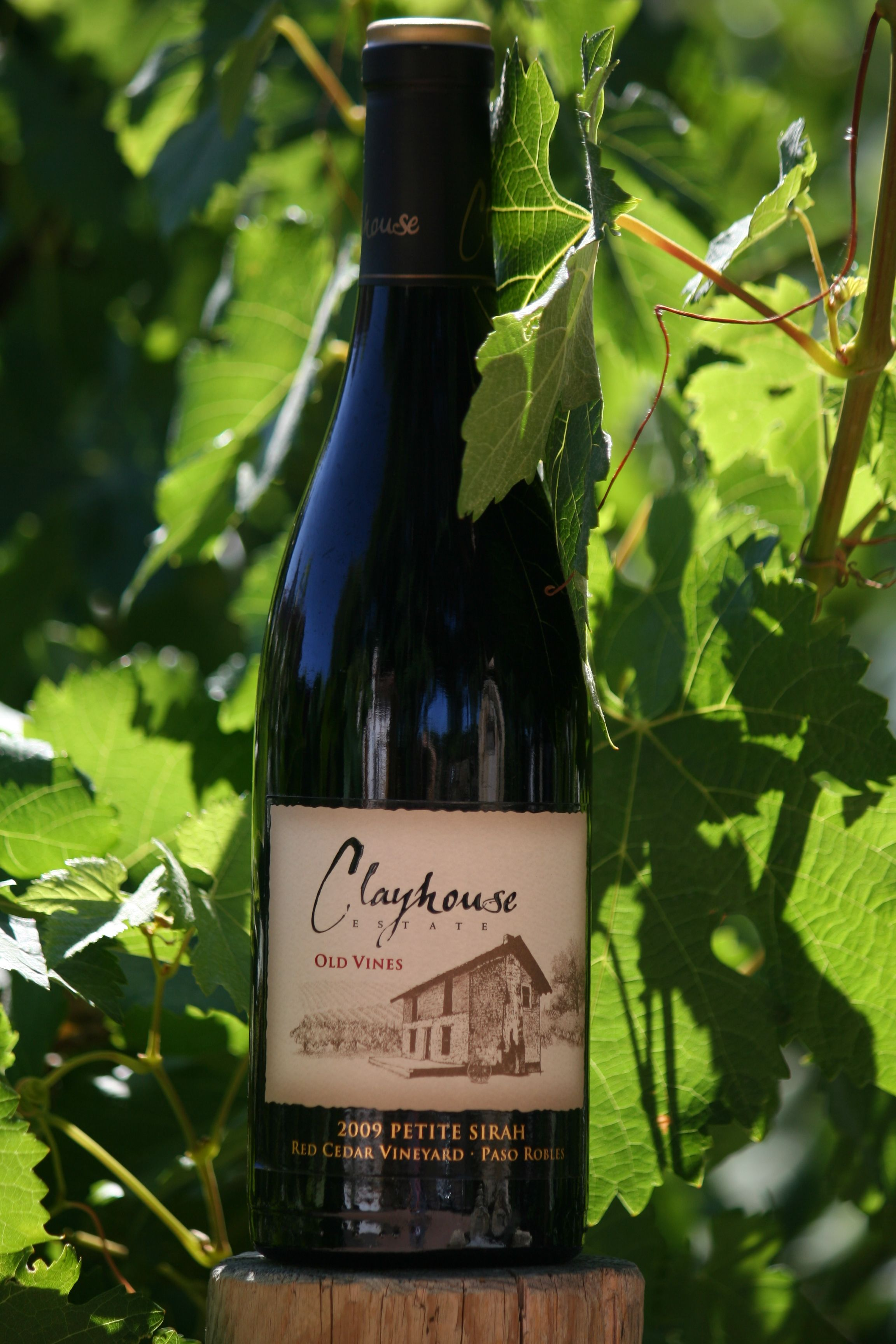 Clayhouse Wines 2009 Old Vines Petite Syrah, Paso Robles