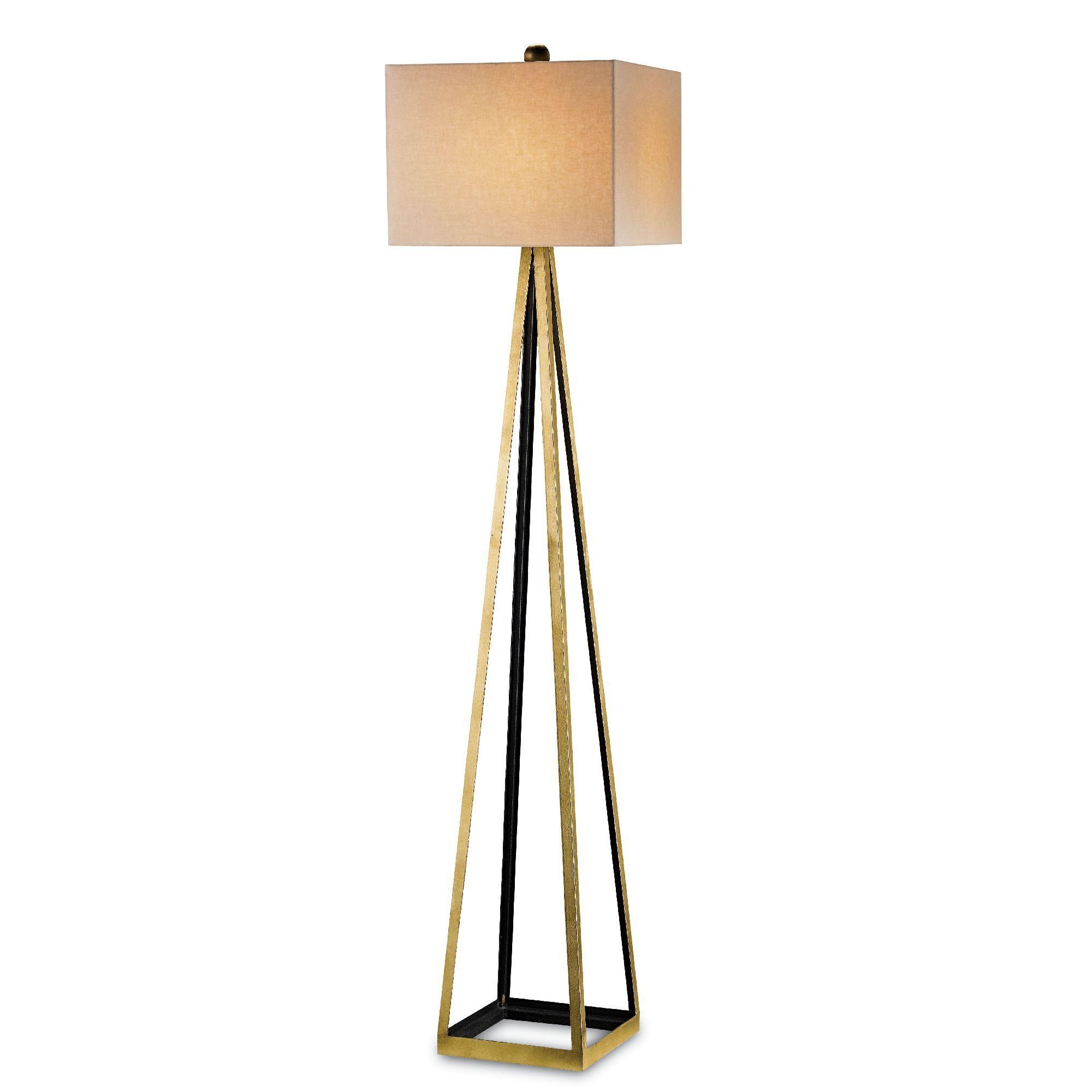 Currey And Company Bel Mondo Floor Lamp Gold Floor Lamp Floor Lamp Contemporary Floor Lamps