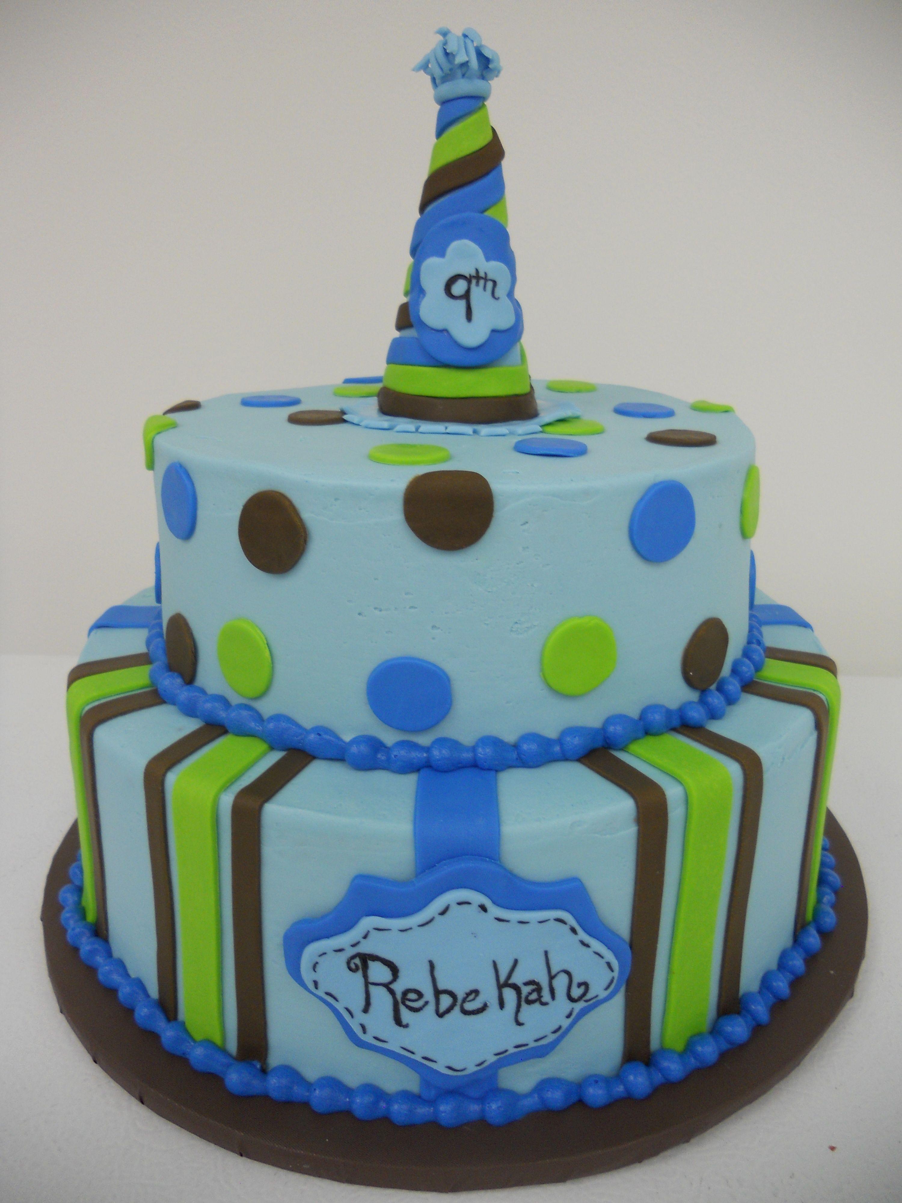 Tremendous Blue Green And Brown Birthday Cake Birthdaycake Personalised Birthday Cards Sponlily Jamesorg