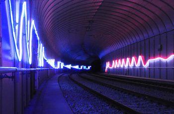 HC Gilje - LED Neon Light Rope Installation in Fantoft-paradis Tunnel for Bybanen in & HC Gilje - LED Neon Light Rope Installation in Fantoft-paradis ... azcodes.com