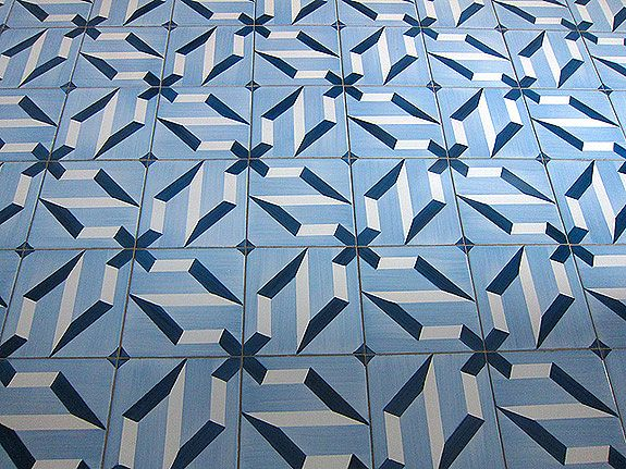 Floor tile design by gió ponti designed with me in mind in