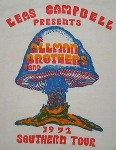 The Allman Brothers-1972 Southern Rock Tour