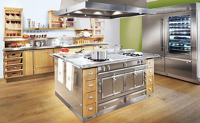 Cuisine classique en bois massif ch ne cocoa la cornue cuisines cuisines design piano de for Mobilier cuisine design