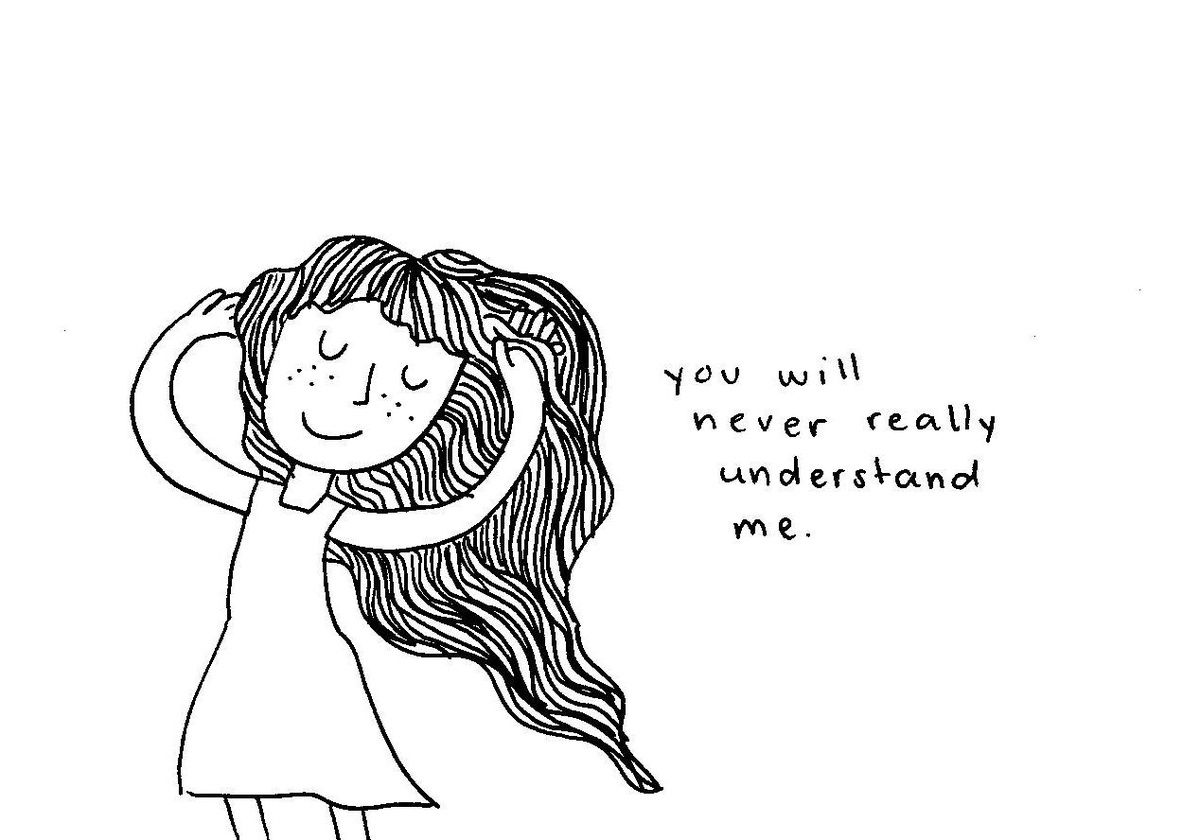 You Will Really Never Understand Me Longhair Quote