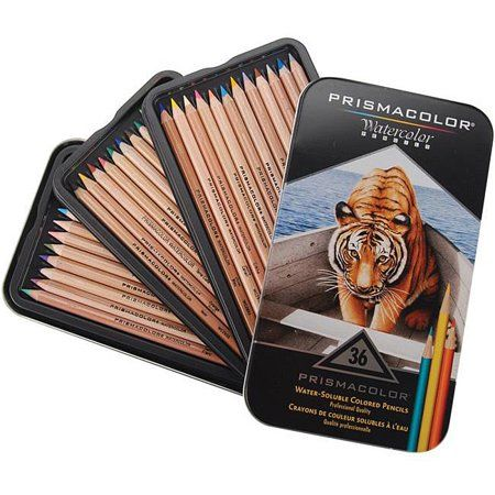 Derwent Inktense Not Your Standard Watercolor Pencil Color