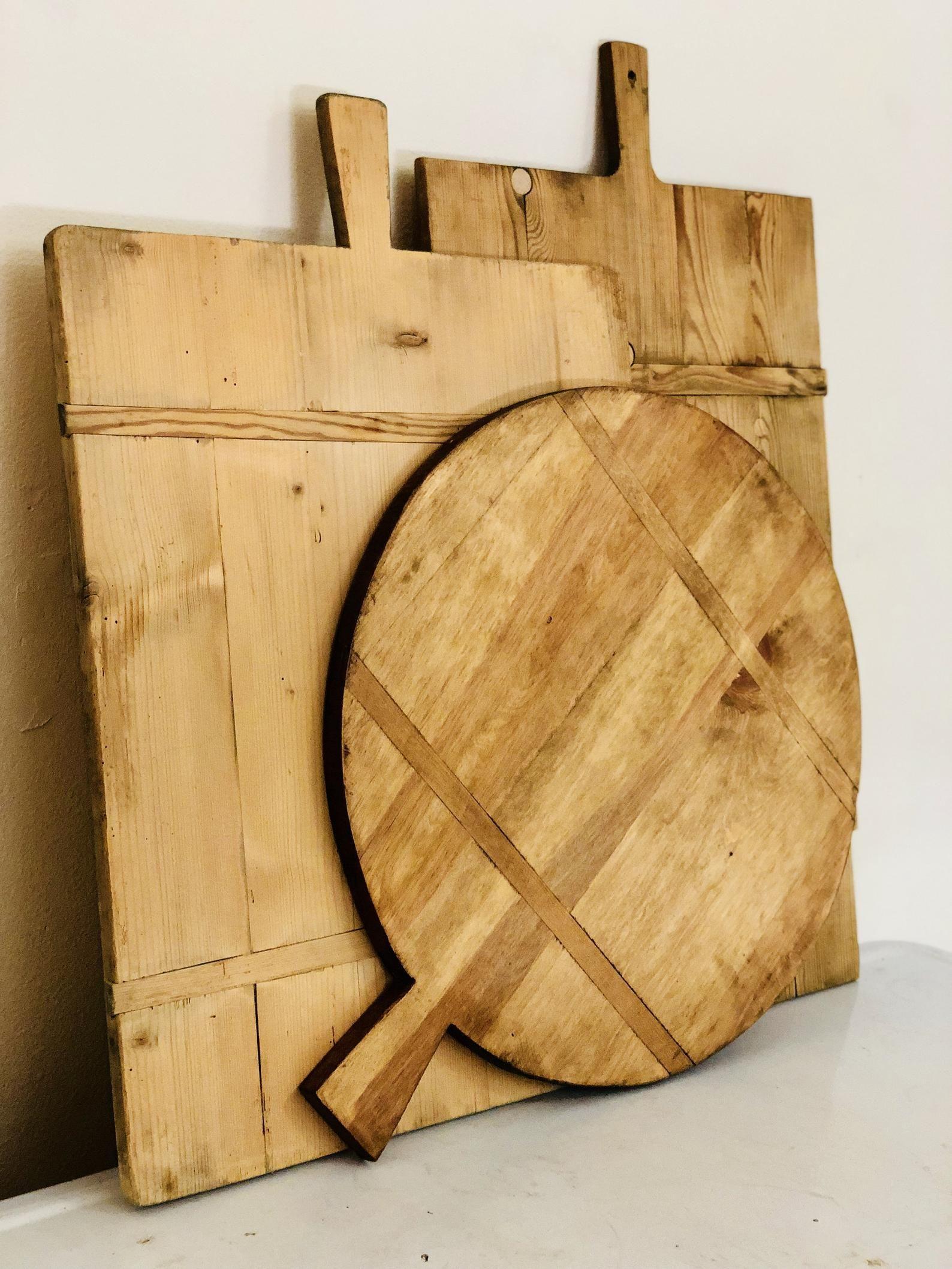 Large Bread Board Bread Board Circular Bread Board Etsy