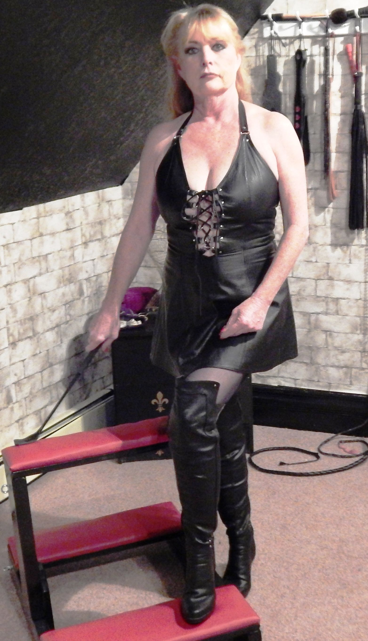 Mistress in Her Dungeon | Female Domination & Male ...