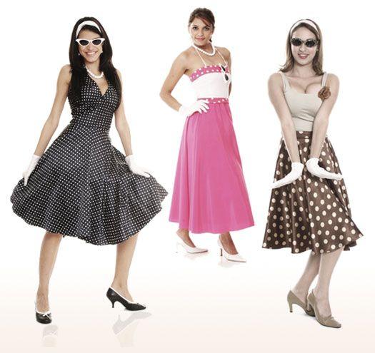 Festa Dos Anos 50 60 70 E 80 O Que Usar Vestidos Anos 60