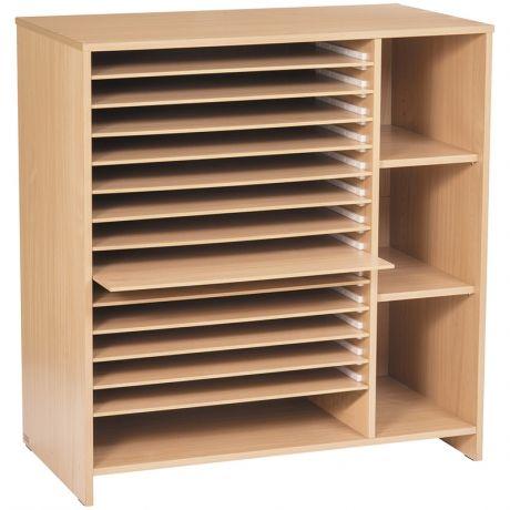 fabriquer un rangement pour feuilles de dessin recherche google meuble en carton pinterest. Black Bedroom Furniture Sets. Home Design Ideas