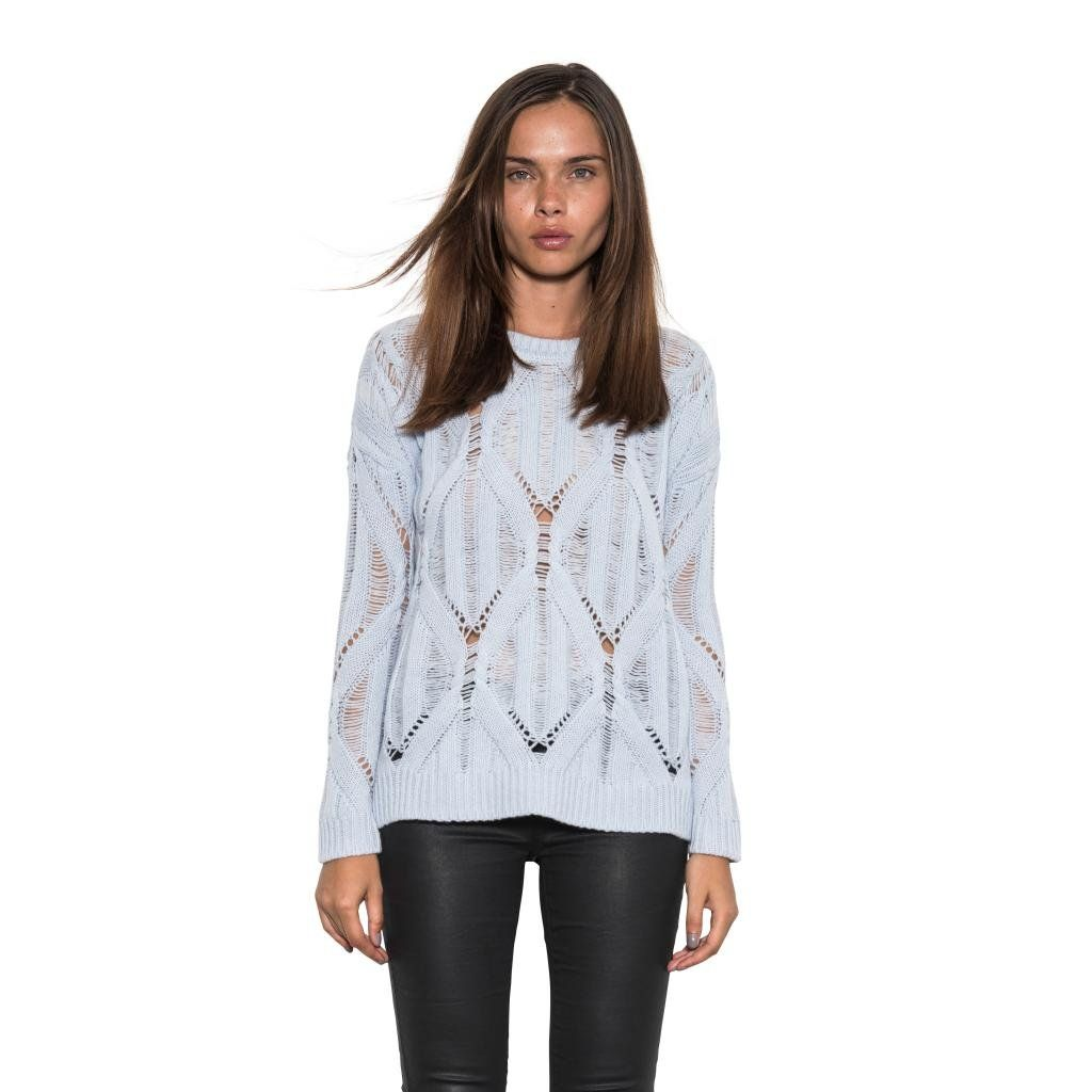Rendezvous Loose Cable Knit Classic Sweater by One Grey Day Crew Neck at Amazon Women's Clothing store: #fashion #women #style #cardigan #sweater #shirts #onegreyday