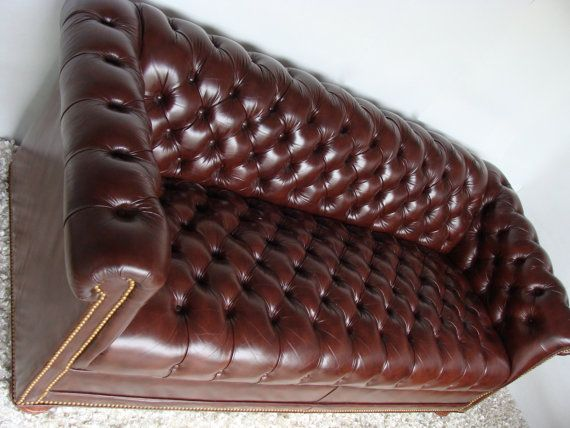 RESERVED for Christine Iconic Vintage Chesterfield Sofa