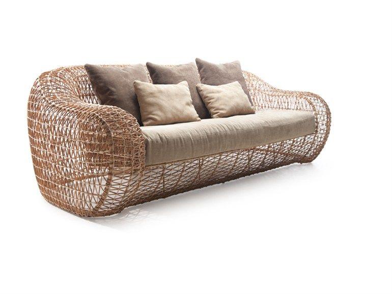 Garden sofa BALOU   Garden sofa - KENNETH COBONPUE   Outdoor ...