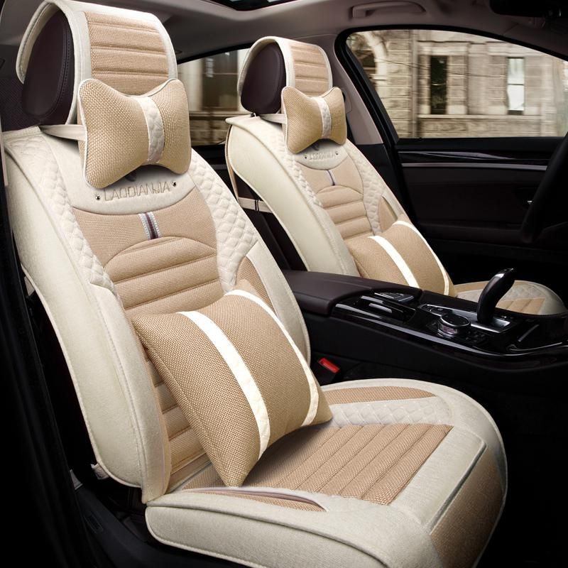 3d Car Seat Cover Cushion Flax Car Styling For Ford Edge Escape