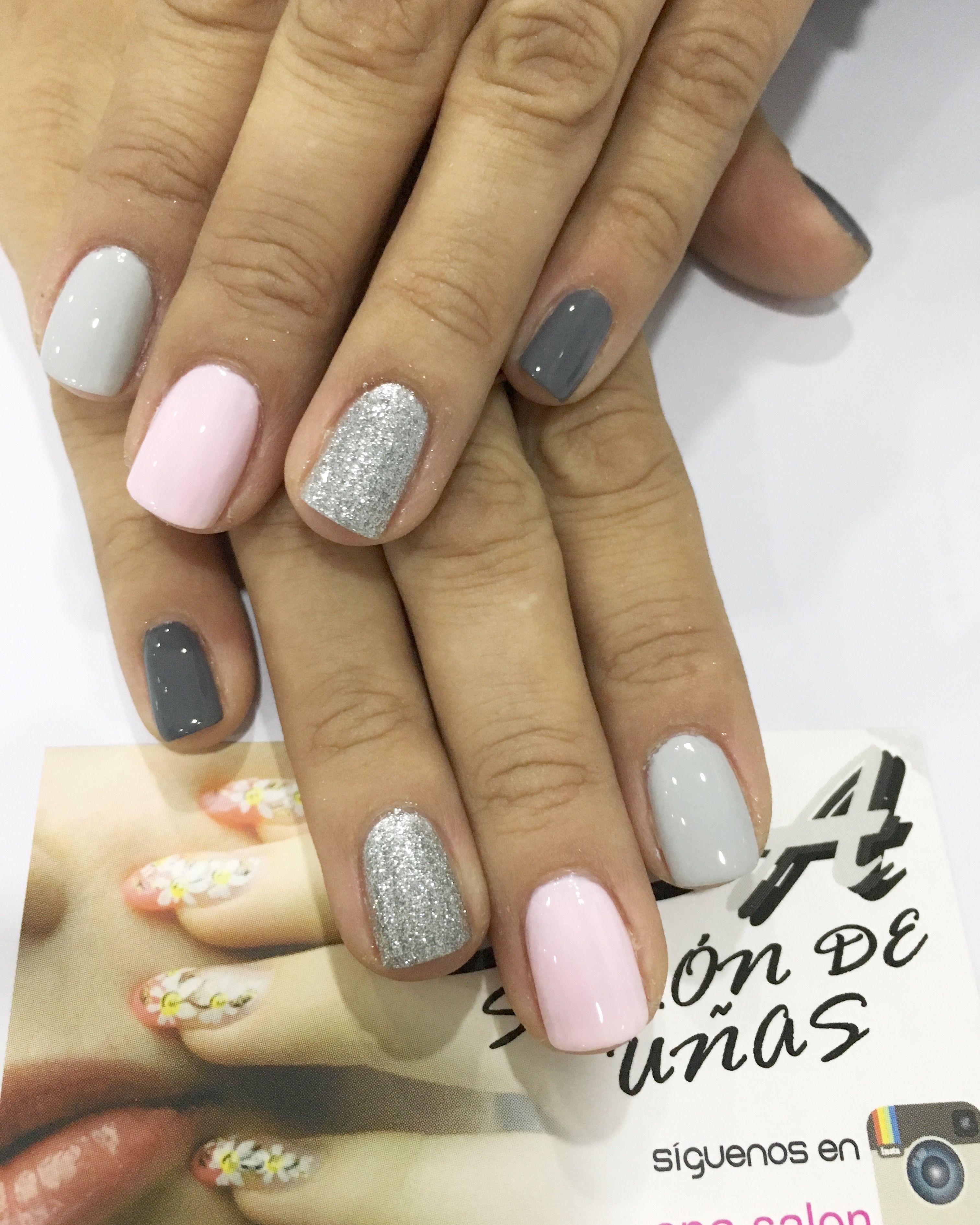 Pin de Kimy en Uñas | Pinterest | Uñas gelish, Salones de uñas y ...