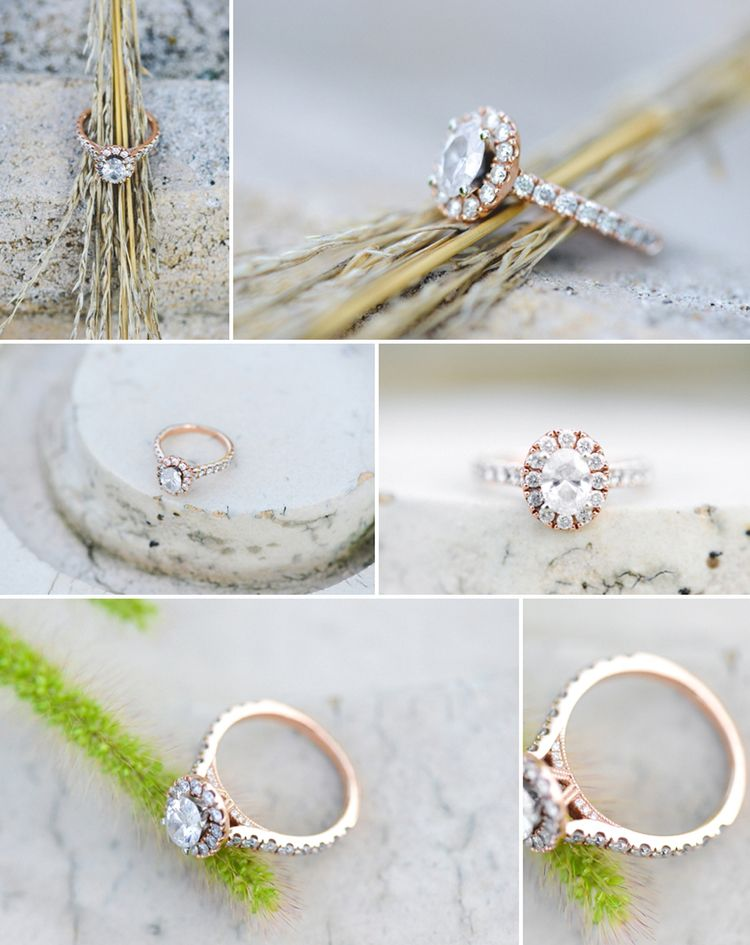 oval, rose gold, engagement ring, wheat, flawless, carats, kansas city, wedding photographer, winery