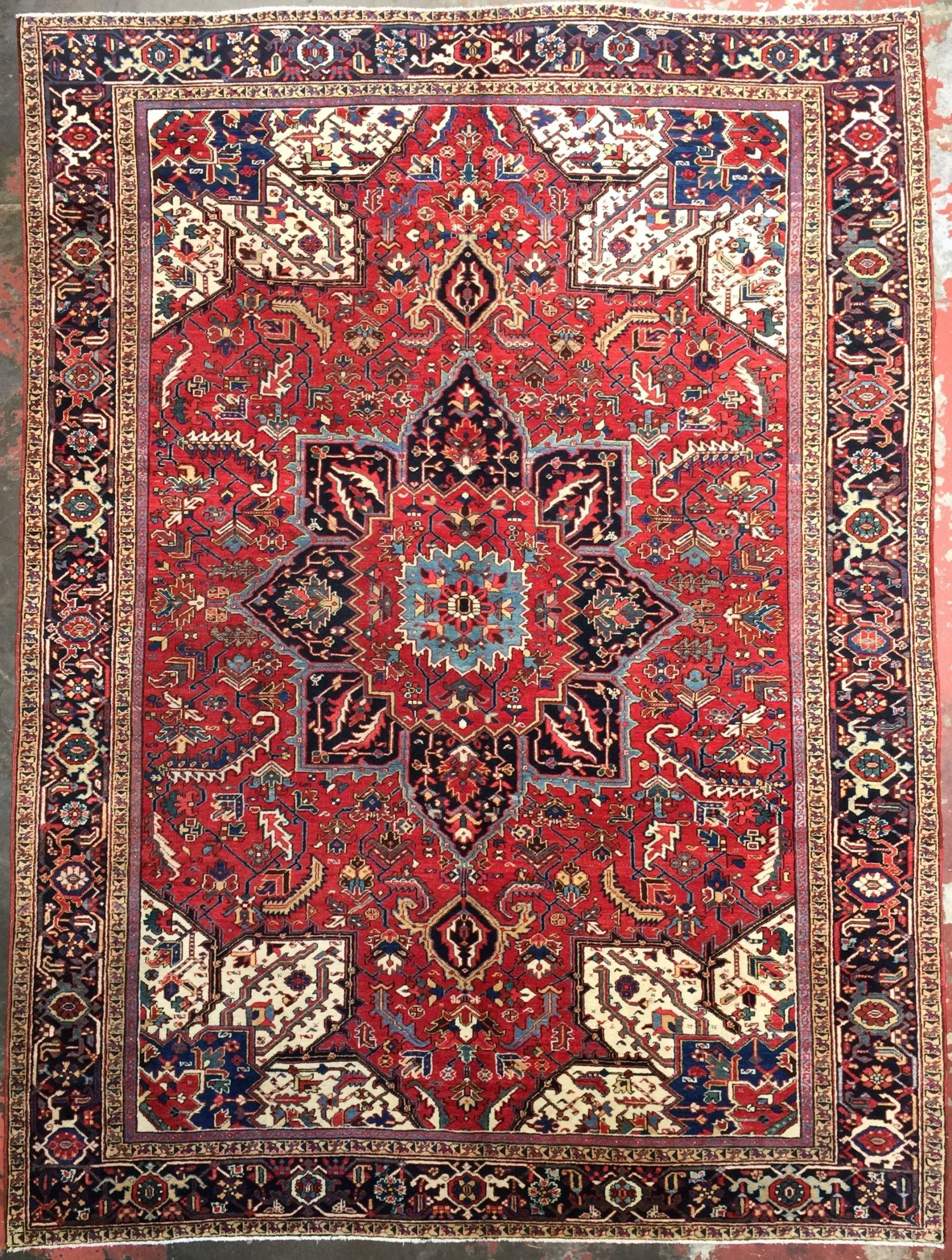 Persian heriz rug x in carpets pinterest rugs persian